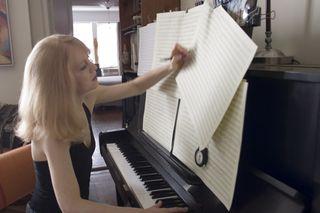 Maria Composing at the Piano